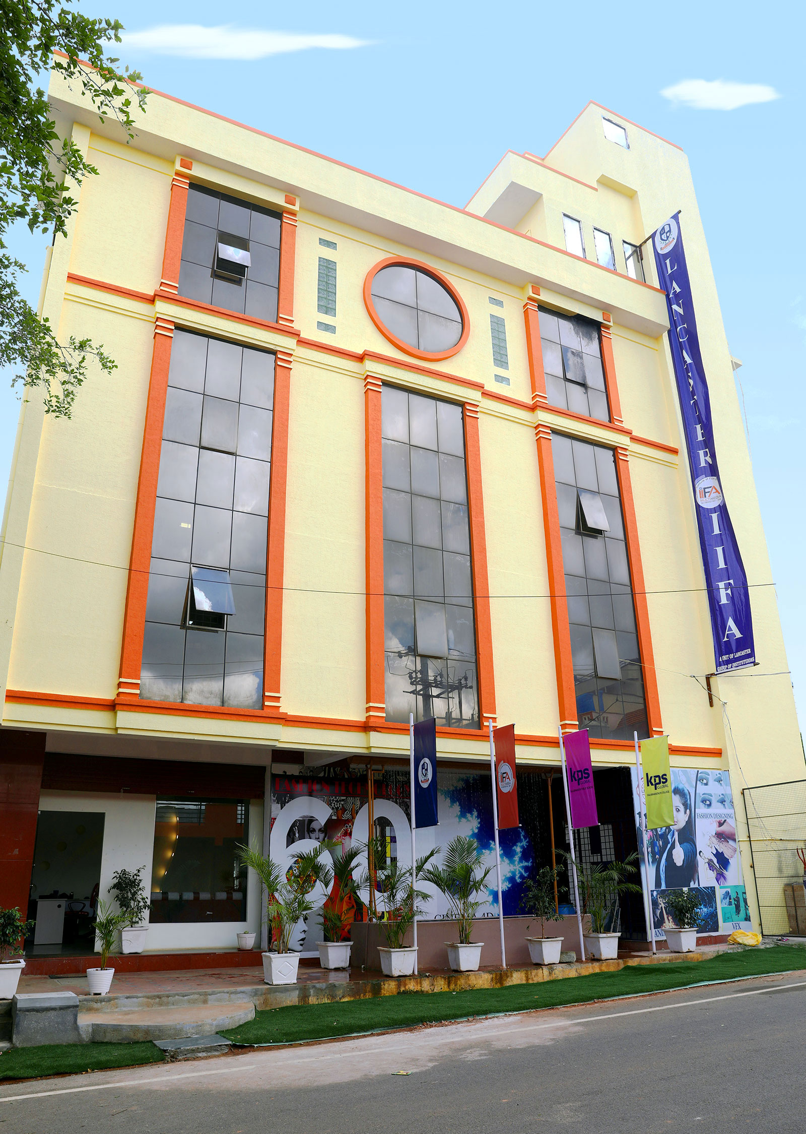 Iifa Multimedia Interior Designing College Campus Bangalore
